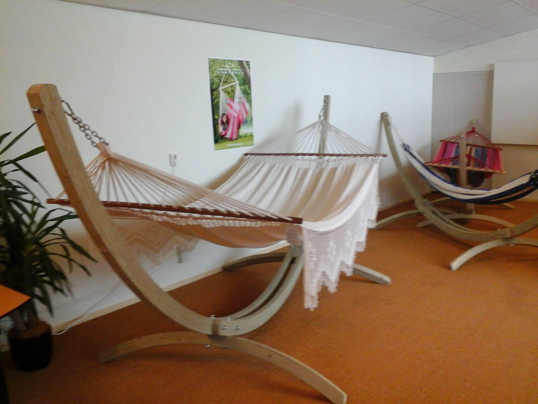 Hangmatstandaard Familie 'Wood' Retour artikel