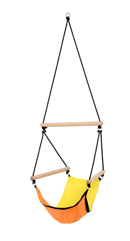 Kinderhangstoel 'Swinger' Yellow - Geel - Amazonas