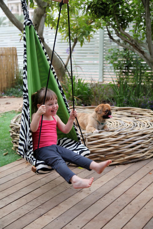 Kinderhangstoel 'Hang Mini' zebra