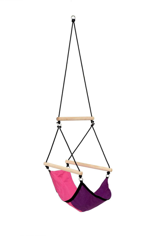 Kinderhangstoel 'Swinger' Pink - Roze - Amazonas