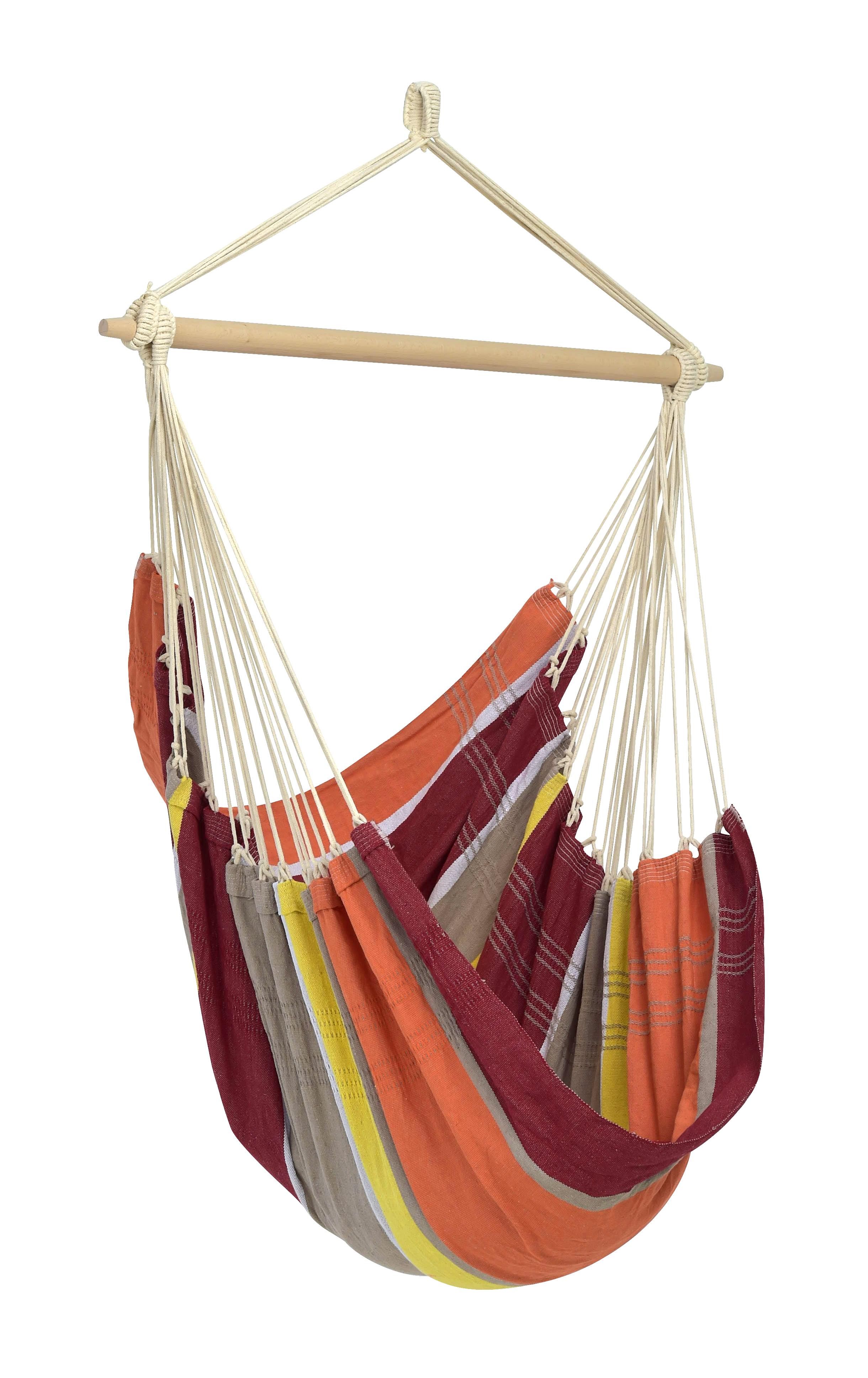 Hangstoel E�npersoons 'Brasil' Acerola - Oranje - Amazonas