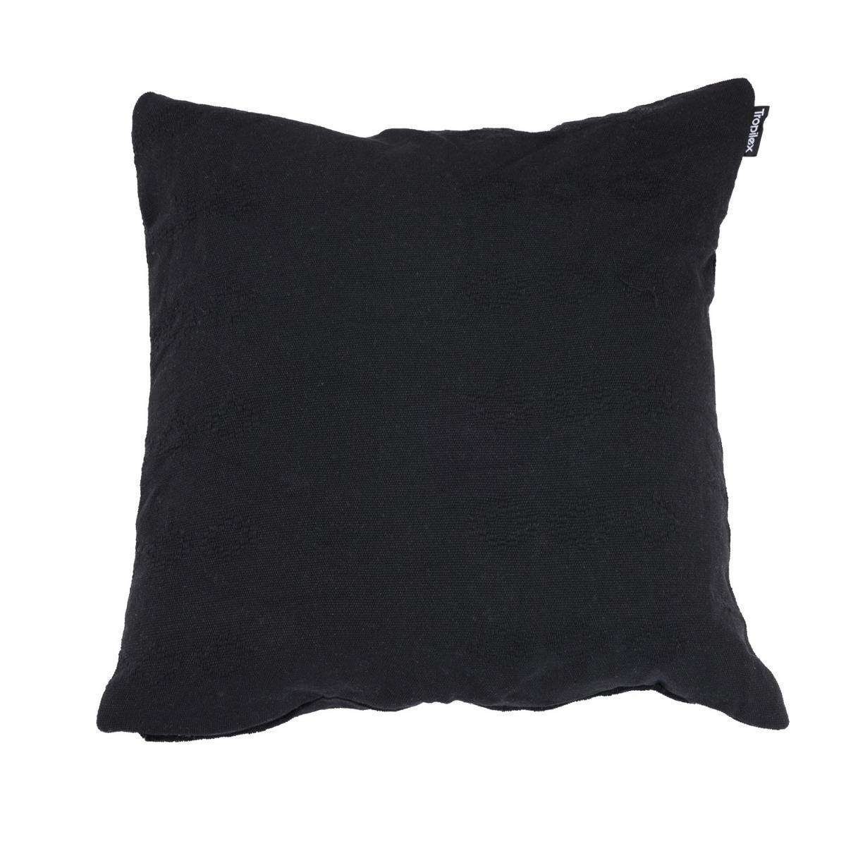 Kussen 'DeLuxe' Black - Zwart - Tropilex �