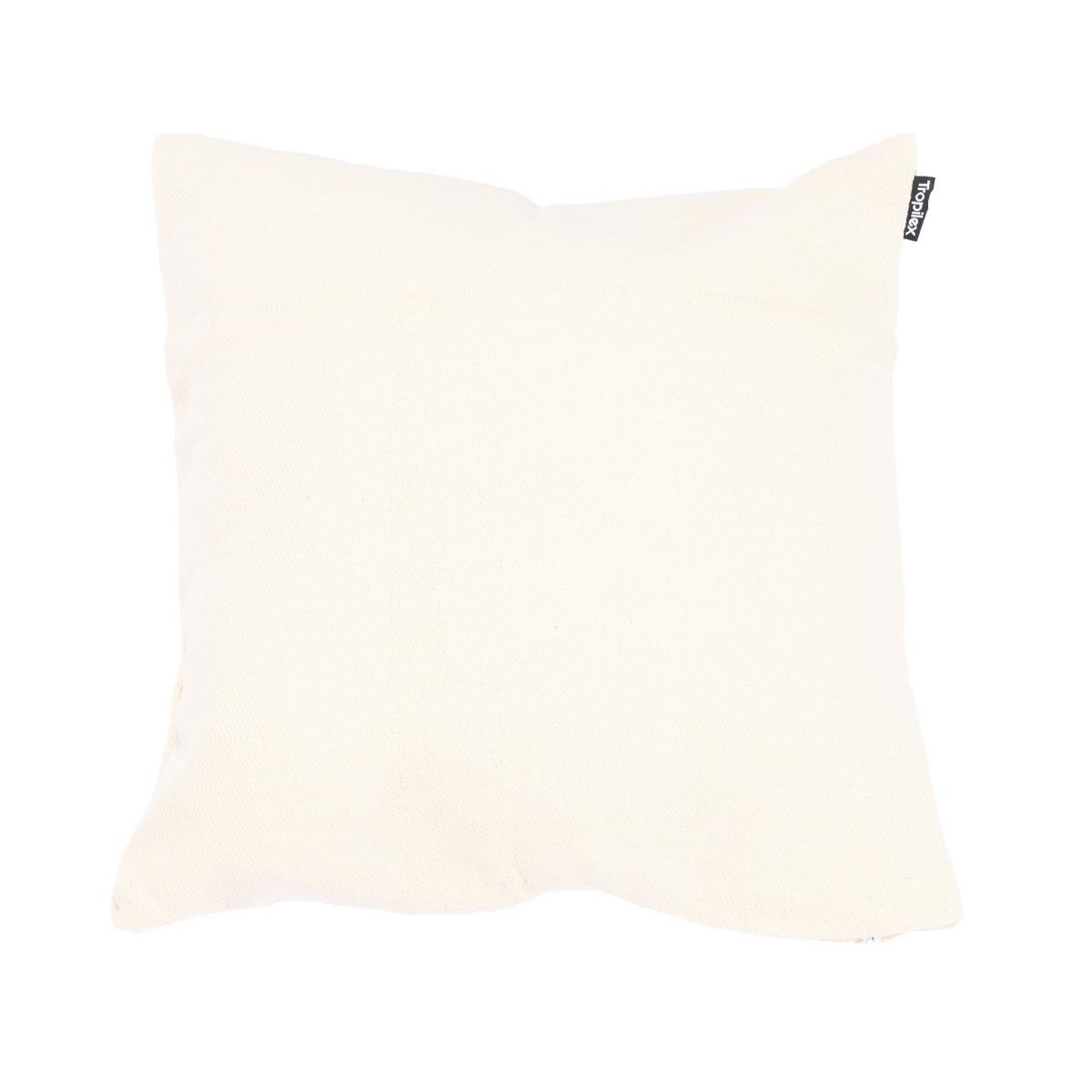 Kussen 'Luxe' White - Wit - Ecru - Tropilex �