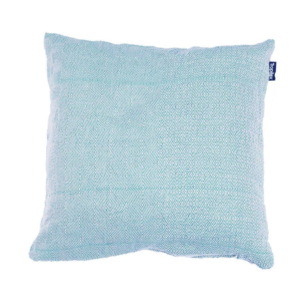 Kussen 'Natural' Blue - Blauw - Tropilex �