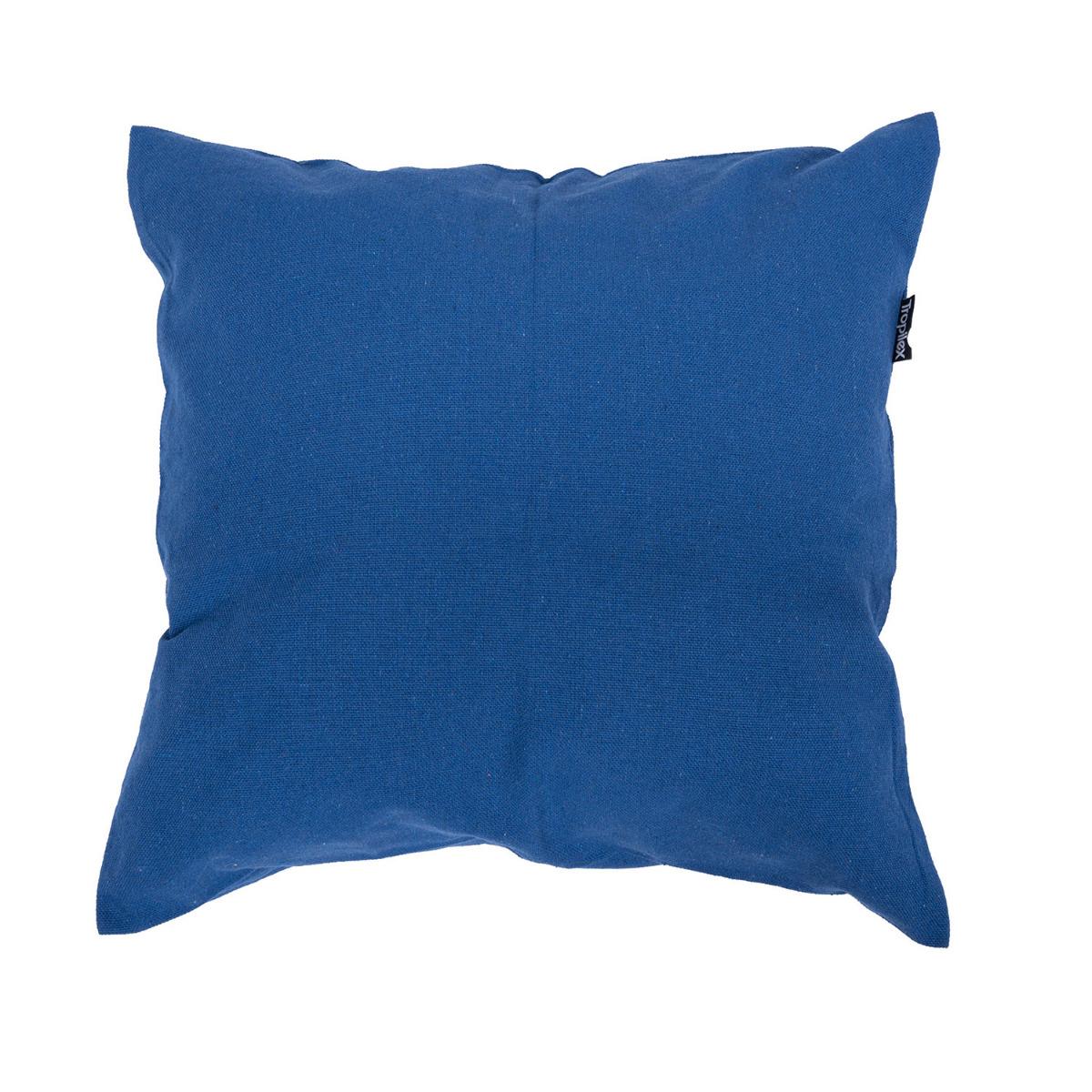 Kussen 'Plain' Blue - Blauw - Tropilex �
