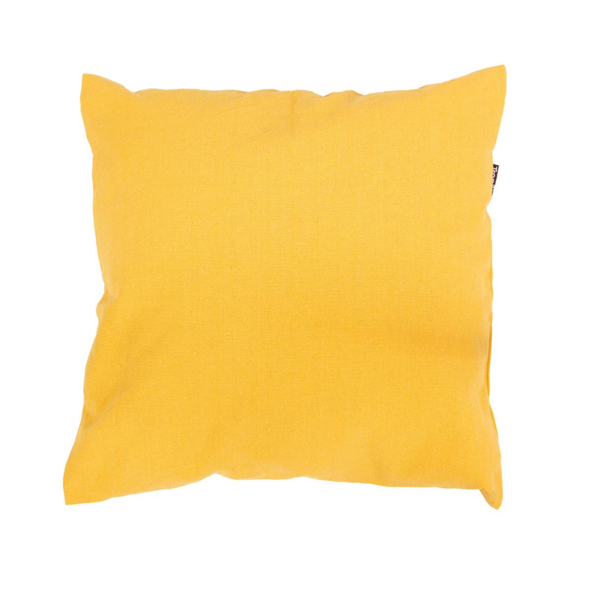 Kussen 'Plain' Yellow - Geel - Tropilex �