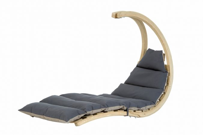 Hangstoel Eénpersoons 'Swing Lounger' Anthracite