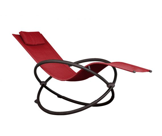 Schommelstoel 'Orbital' Lounger Red