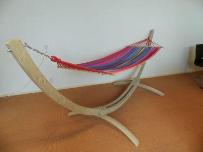 Hangmatstandaard Tweepersoons 'Wood' Retour artikel
