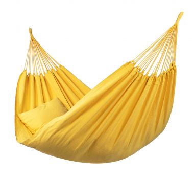 Hangmat Eénpersoons 'Plain' Yellow