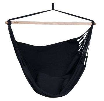 Hangstoel Tweepersoons 'Luxe' Black