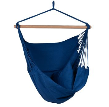 Hangstoel Eénpersoons 'Organic' Blue