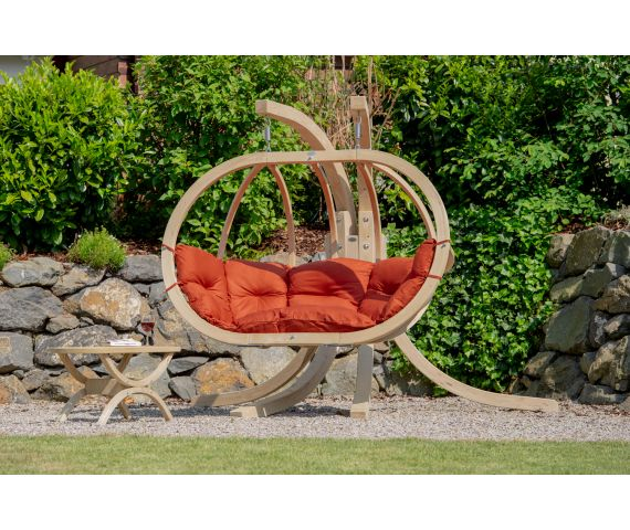 Hangstoel Incl Standaard.Hangstoel Met Standaard Kleur Oranje Hangmatgigant Nl