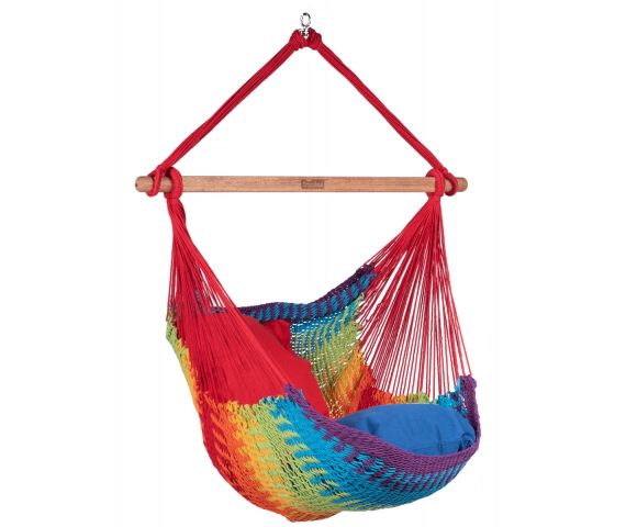 Hangstoel Eénpersoons 'Mexico' Rainbow