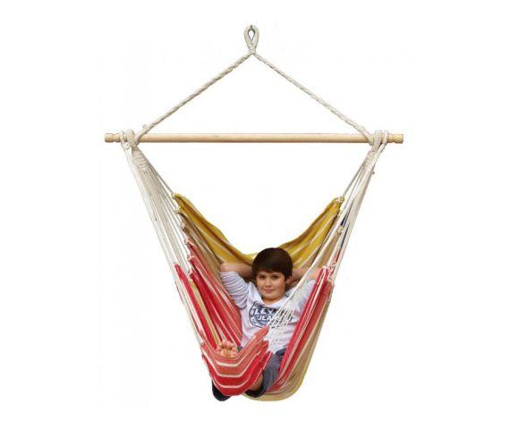 Hangstoel Eénpersoons 'Tropical' Earth Lounge