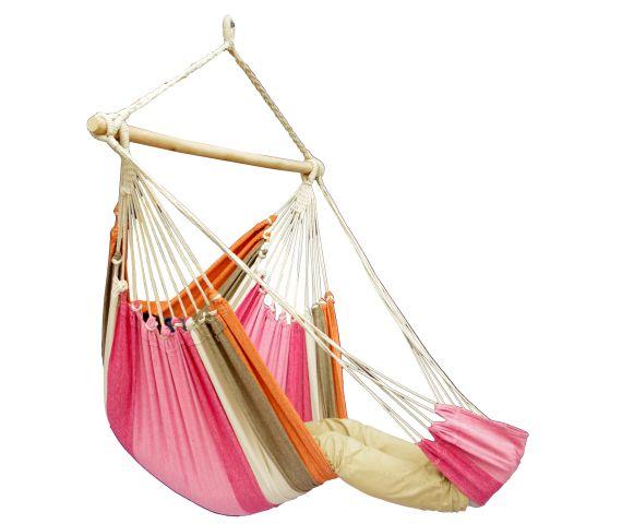 Hangstoel Eénpersoons 'Tropical' Lychee Lounge