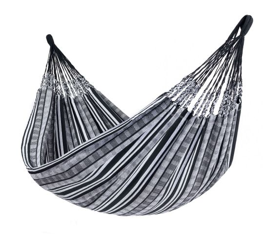 Hangmat Tweepersoons 'Comfort' Black White