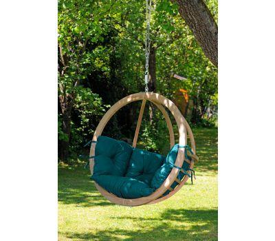 Hangstoel Eénpersoons 'Globo' Green