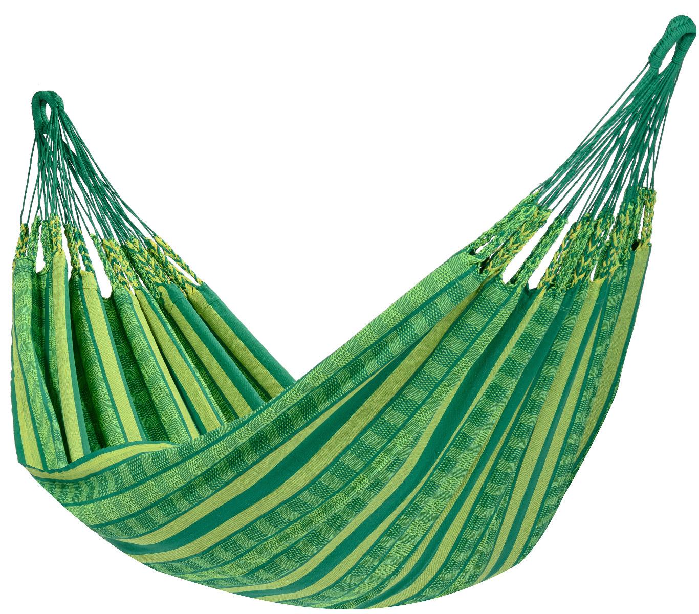 Hangmat Tweepersoons 'Chill' Joyful - Groen - Tropilex �