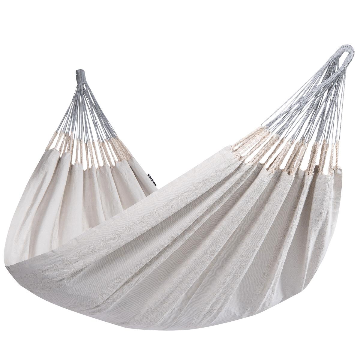 Hangmat Tweepersoons 'Comfort' Pearl - Wit - Ecru - Tropilex �