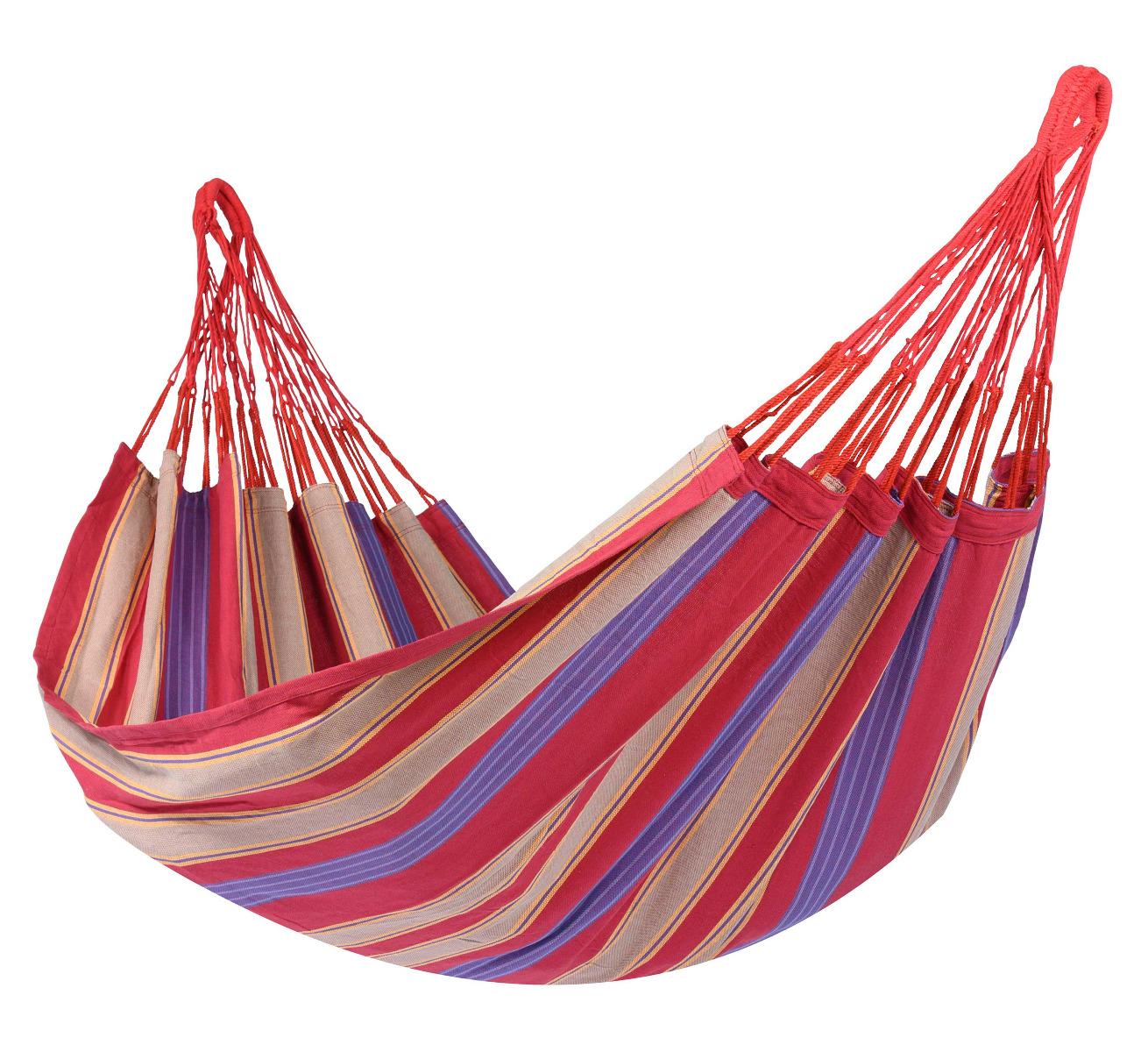 Hangmat E�npersoons 'Cuba' Cherry - Veelkleurig - Tropilex �