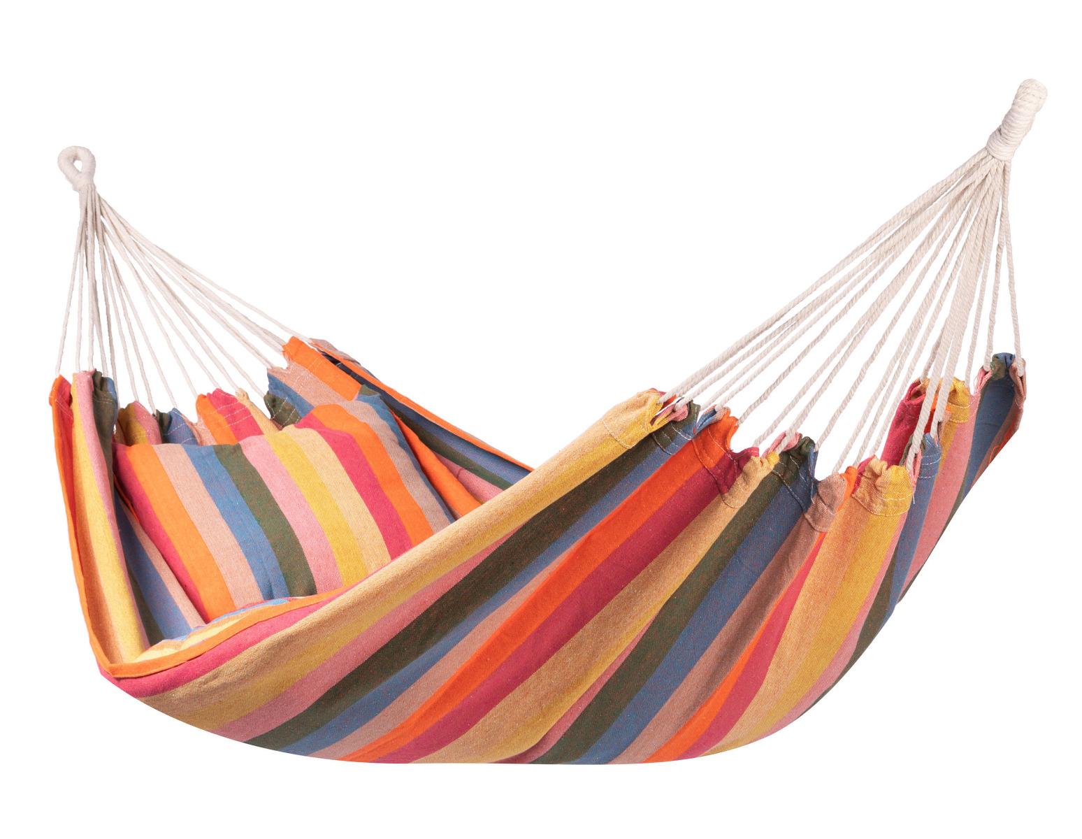 Hangmat E�npersoons 'Gomera' Single - Veelkleurig - 123 Hammock