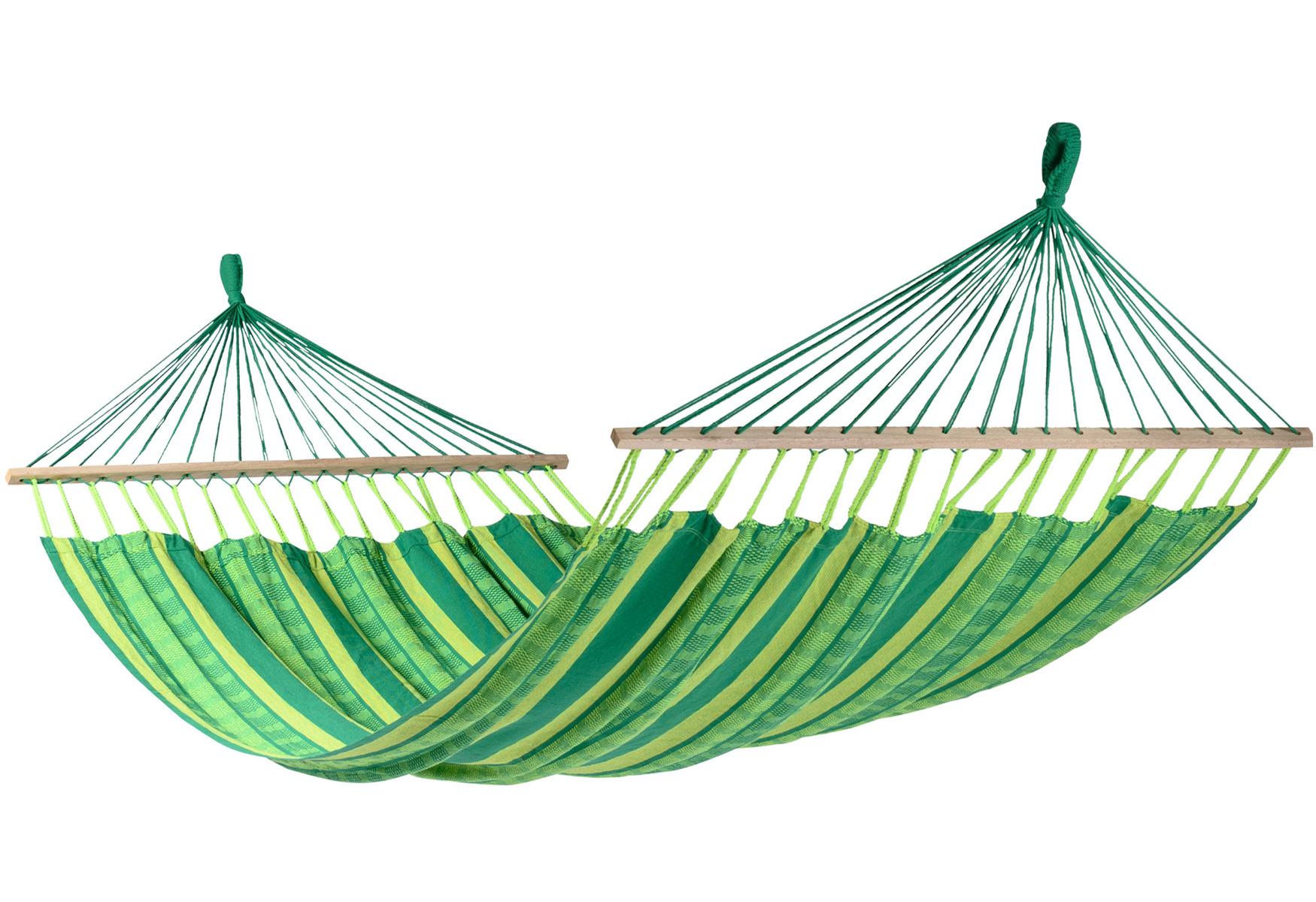 Hangmat Tweepersoons 'Lazy' Joyful - Groen - Tropilex �