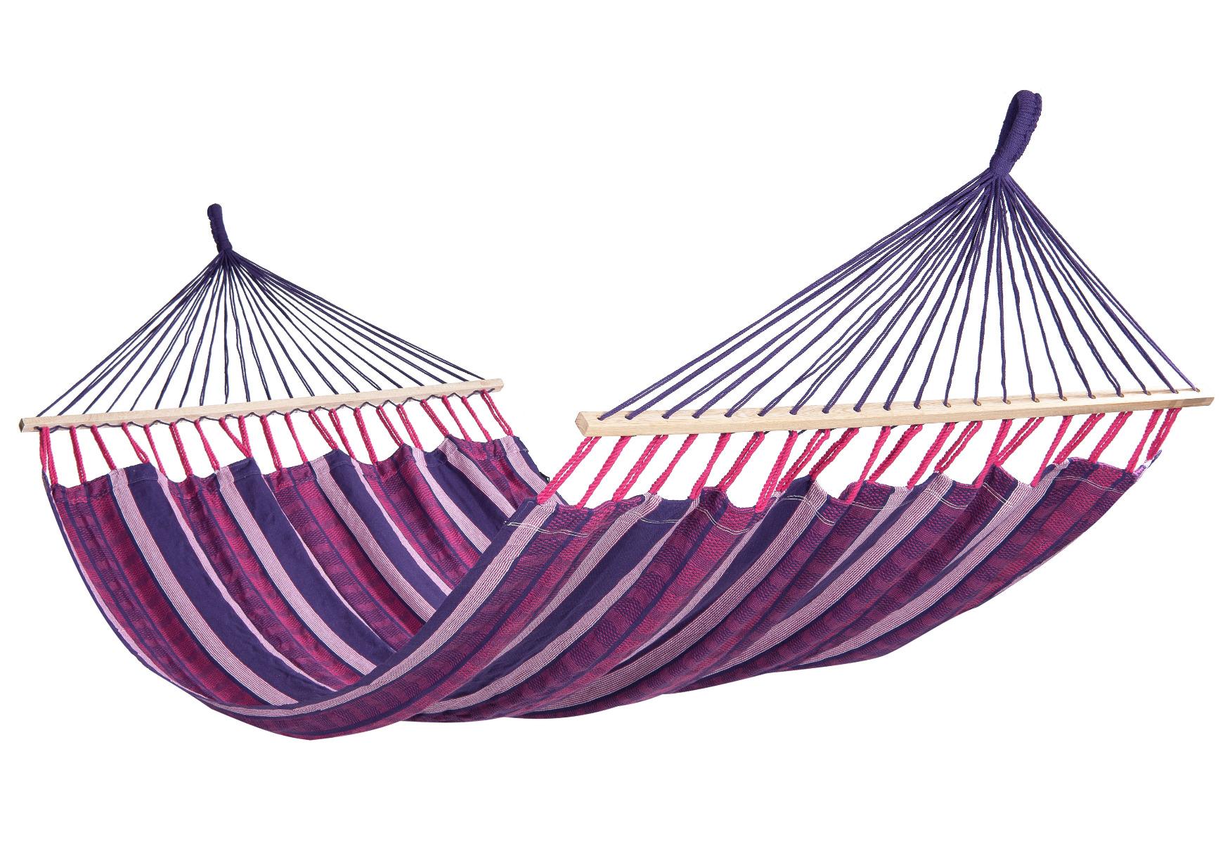 Hangmat Tweepersoons 'Lazy' Love - Paars - Tropilex �