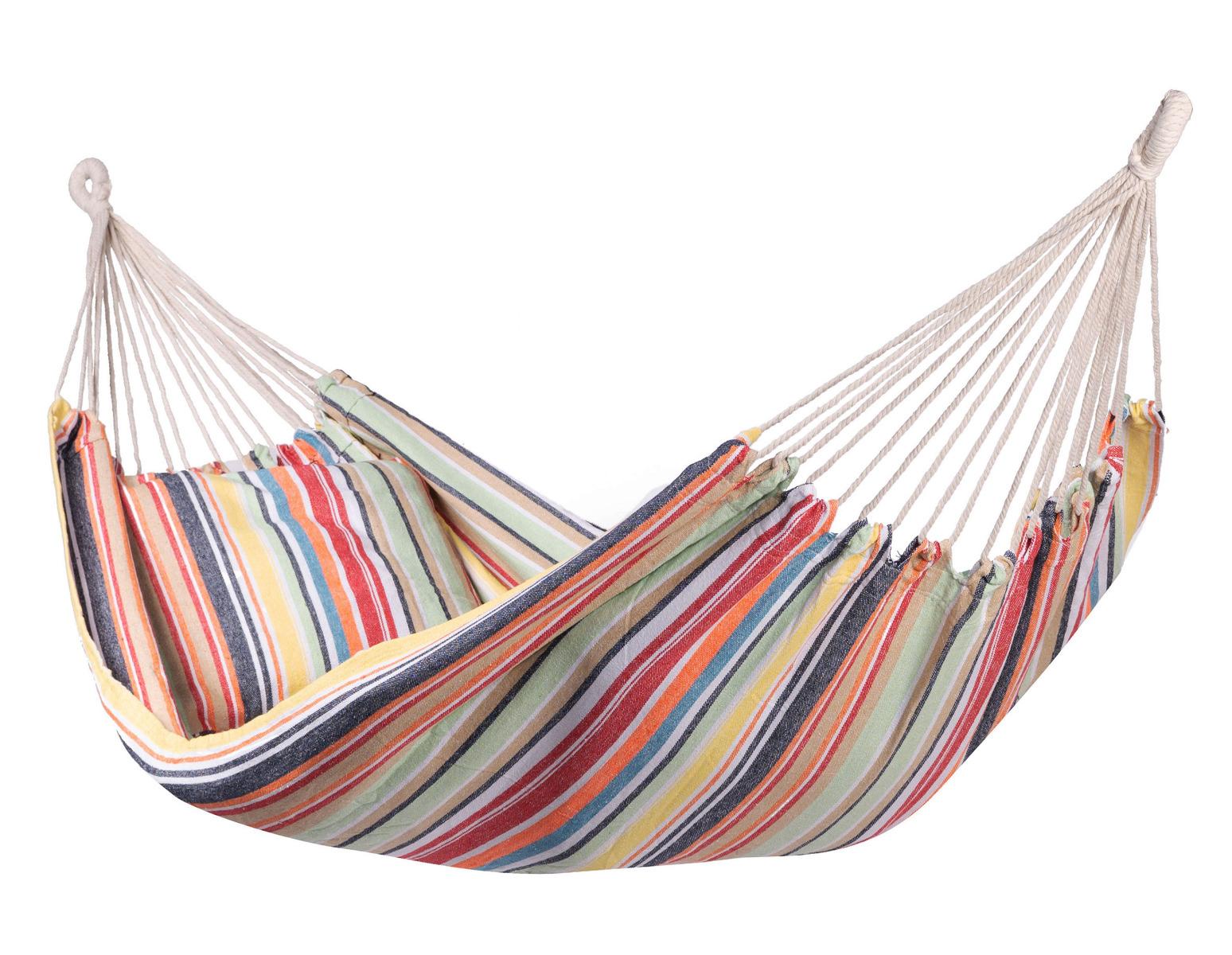 Hangmat E�npersoons 'Minorca' Single - Veelkleurig - 123 Hammock