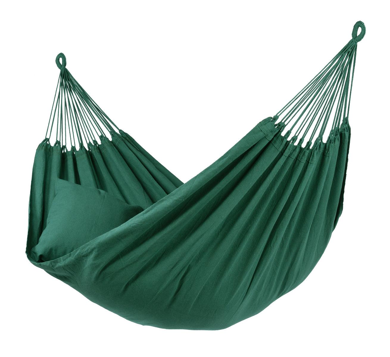 Hangmat Tweepersoons 'Organic' Green - Groen - Tropilex �