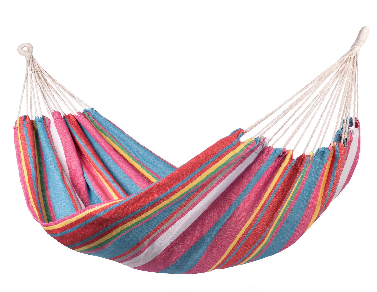 Hangmat Tweepersoons 'Salvora' Double - Veelkleurig - 123 Hammock