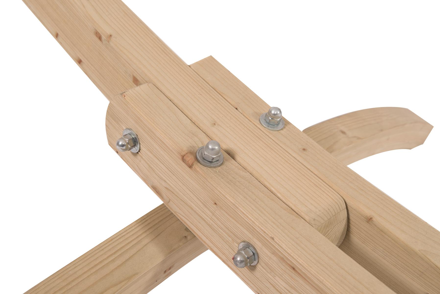 Hangmatstandaard 'Wood' familie