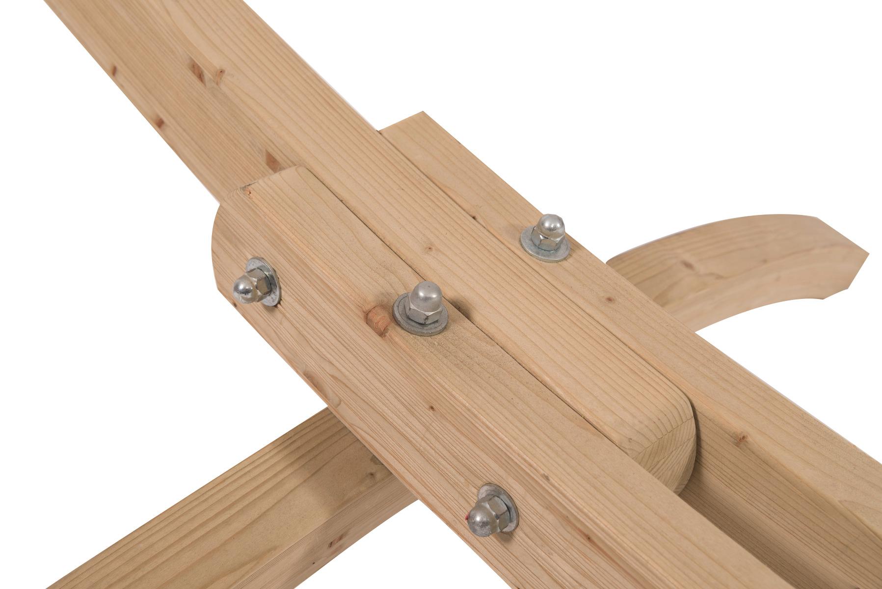 Hangmatstandaard 'Wood' tweepersoons