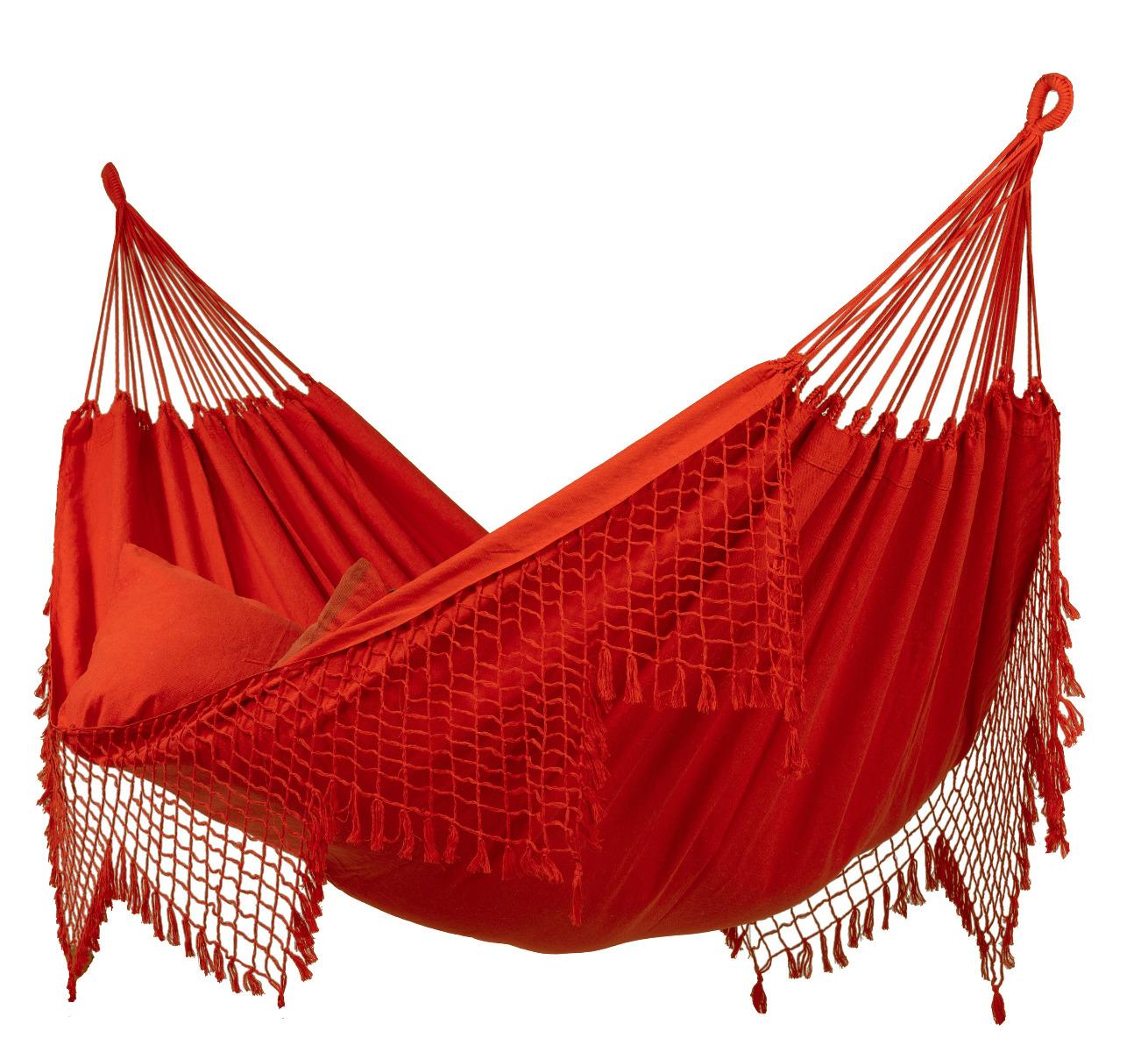 Hangmat Tweepersoons 'Sublime' Red - Rood - Tropilex �