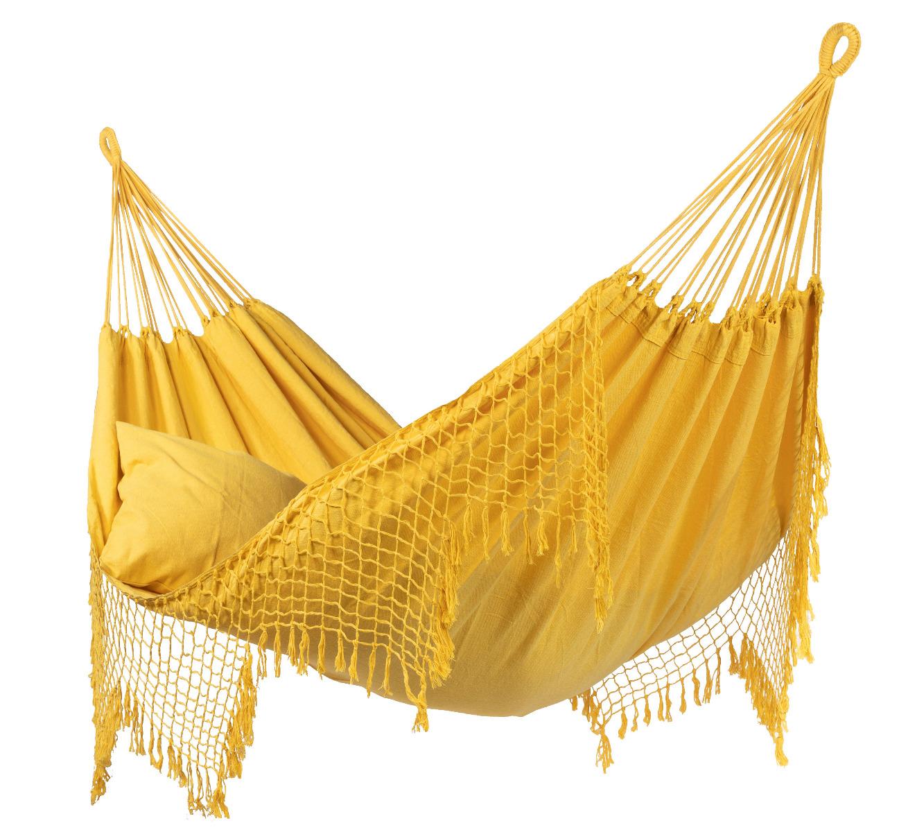 Hangmat Tweepersoons 'Sublime' Yellow - Geel - Tropilex �