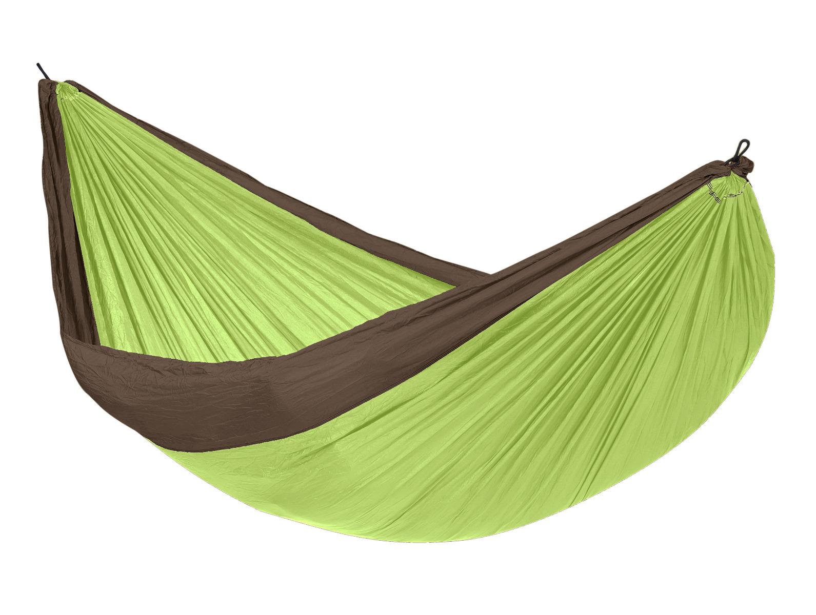 Reishangmat Tweepersoons 'Travel' Lime - Groen - Tropilex �