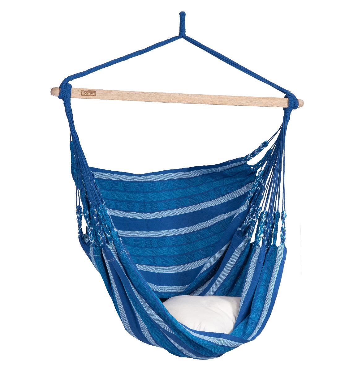 Hangstoel E�npersoons 'Chill' Calm - Blauw - Tropilex �