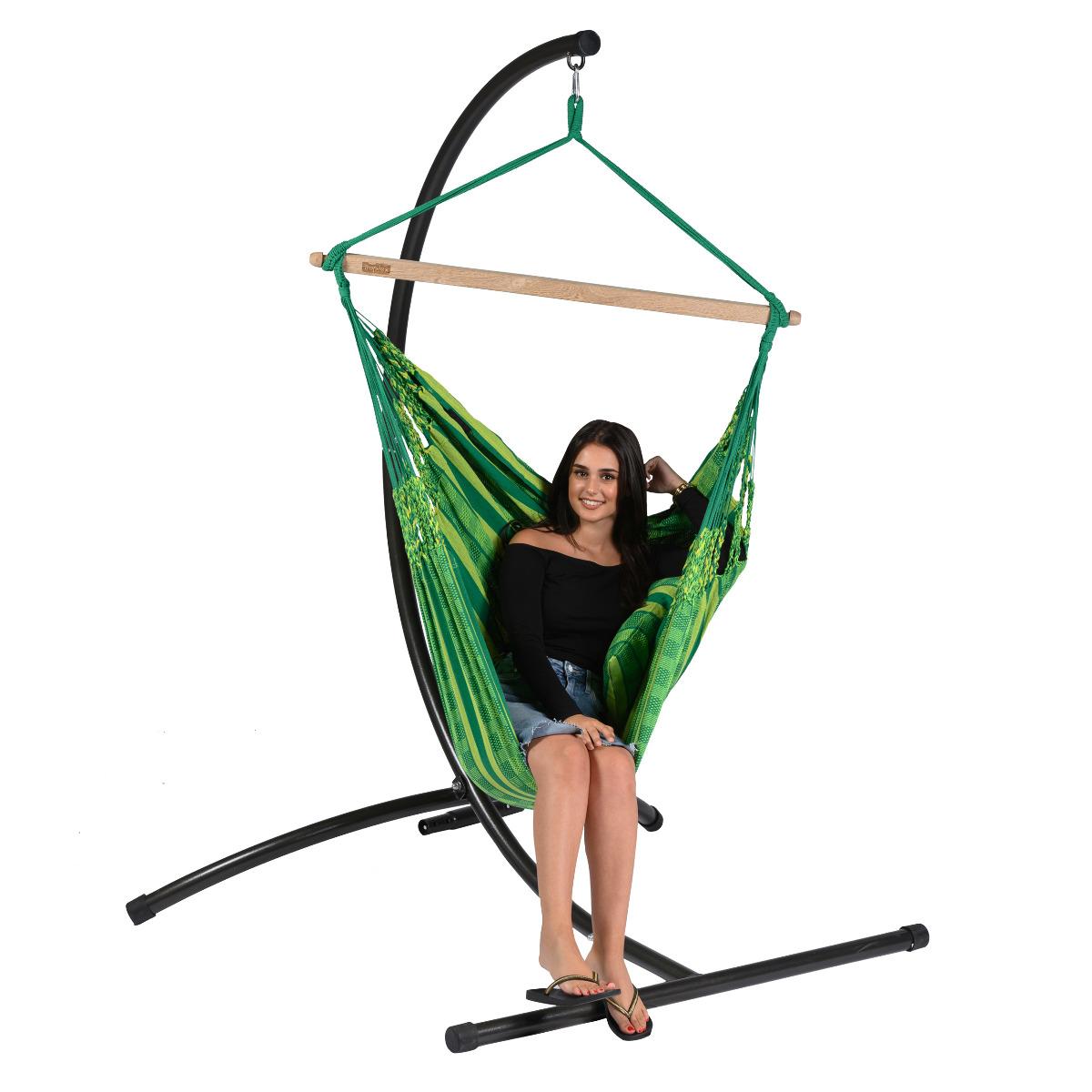 Hangstoel Eénpersoons 'Chill' Joyful - Groen - Tropilex ®