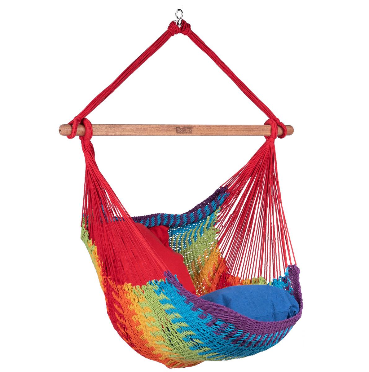 Hangstoel E�npersoons 'Mexico' Rainbow - Veelkleurig - Tropilex �