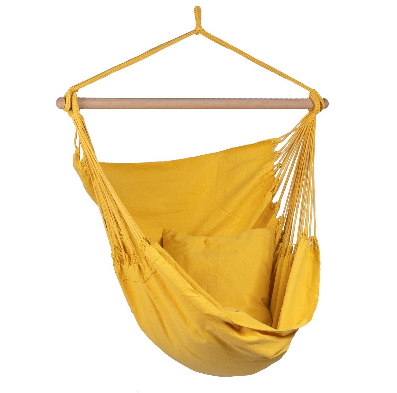 Hangstoel E�npersoons 'Organic' Yellow - Geel - Tropilex �