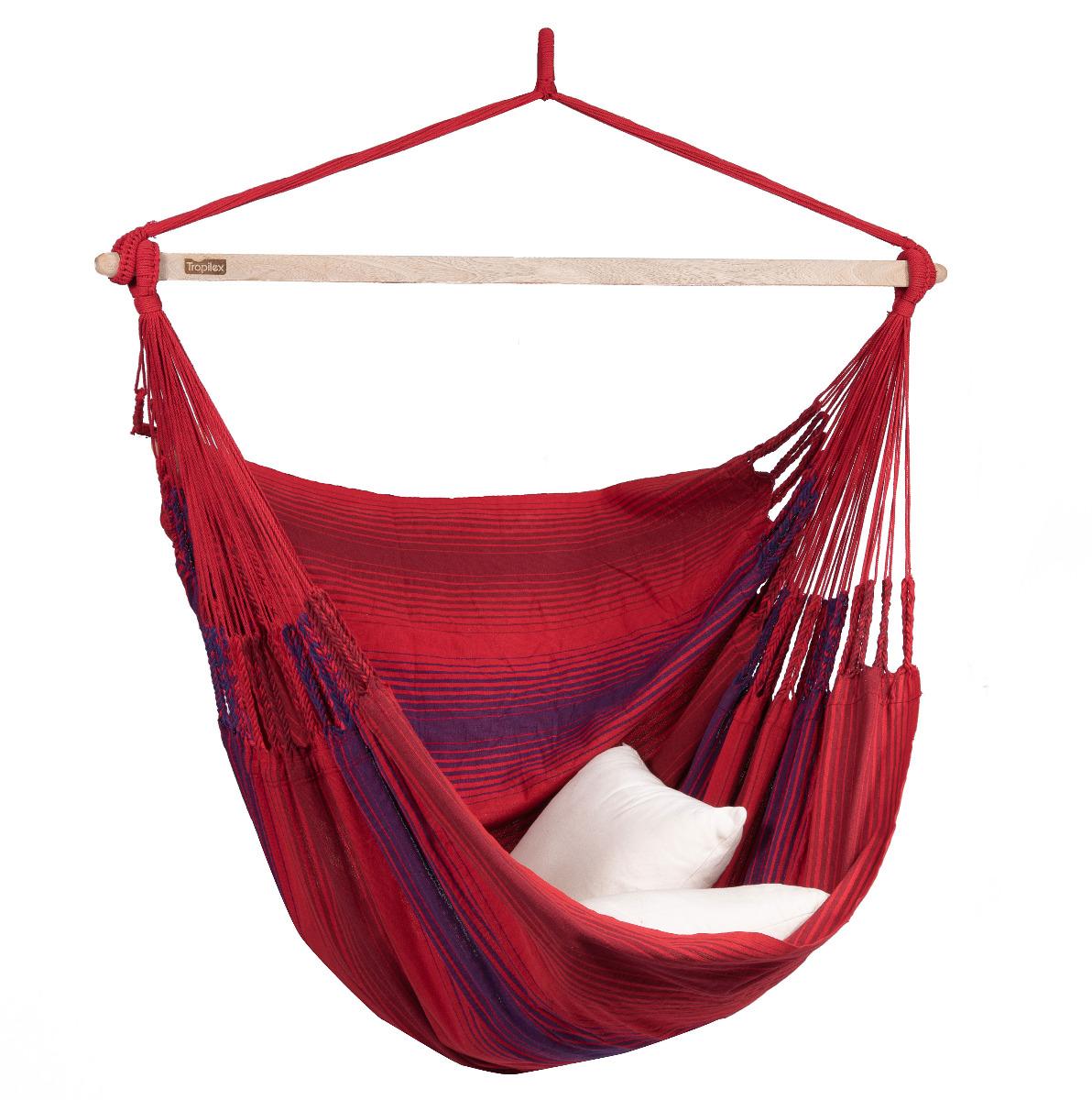 Hangstoel Tweepersoons 'Refresh' Bordeaux - Rood - Tropilex �