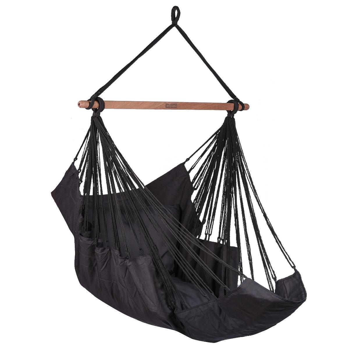 Hangstoel E�npersoons 'Sereno' Black - Zwart - Tropilex �