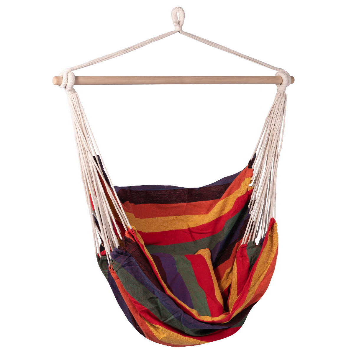 Hangstoel E�npersoons 'Multi' Single - Veelkleurig - 123 Hammock