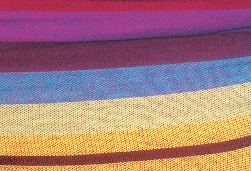 Hangmat met Standaard Tweepersoons 'Sumo Grande' Rainbow