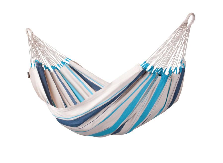 Hängematte `Caribeña` aqua blau