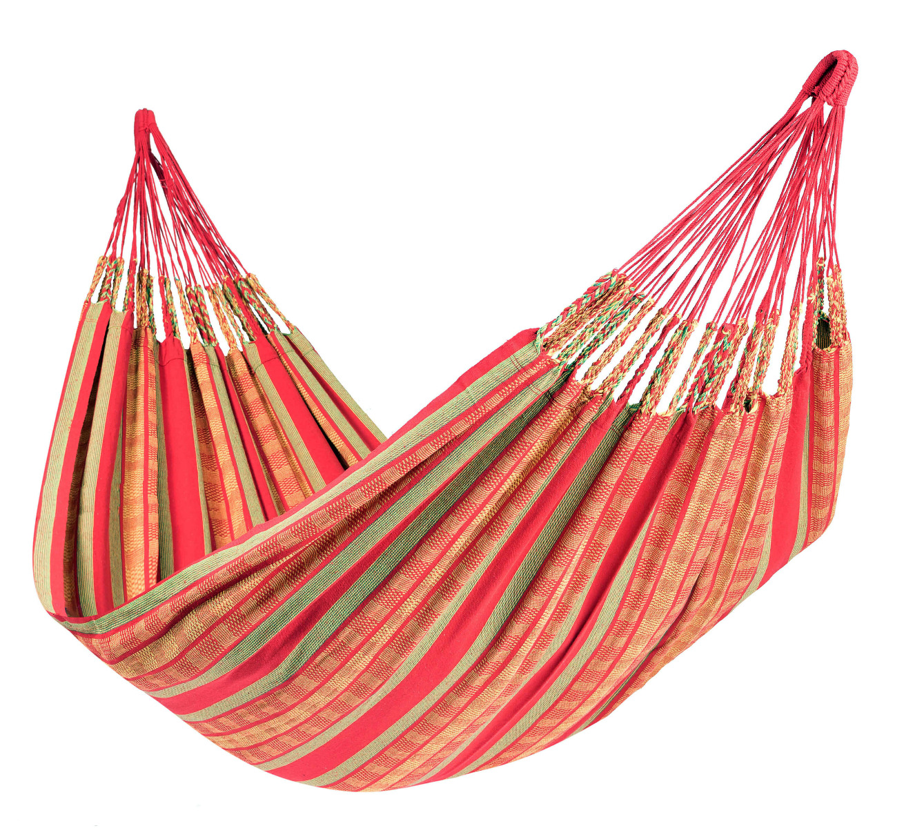 Hangmat Tweepersoons 'Chill' Happy - Rood - Tropilex �