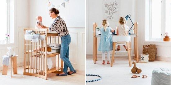 Meegroeimeubels voor de babykamer