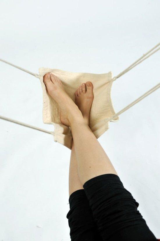 voetensteun voor hangstoel